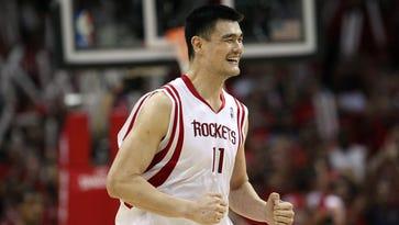 Rockets to retire Yao Ming's jersey Feb. 3 vs. Bulls