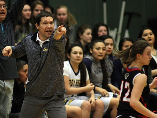 Joel Rosette led the Box Elder girls to the last two State C basketball championships.