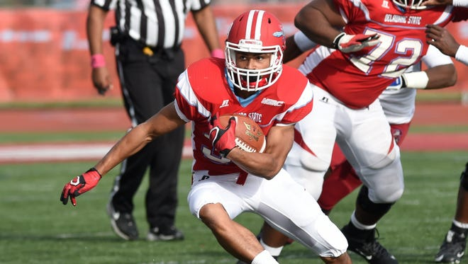 Delaware State University's Dae-Hon Cheung closed out his college career with 116 rushing yards and the game-tying touchdown as the Hornets defeated Howard 32-31 on Saturday.