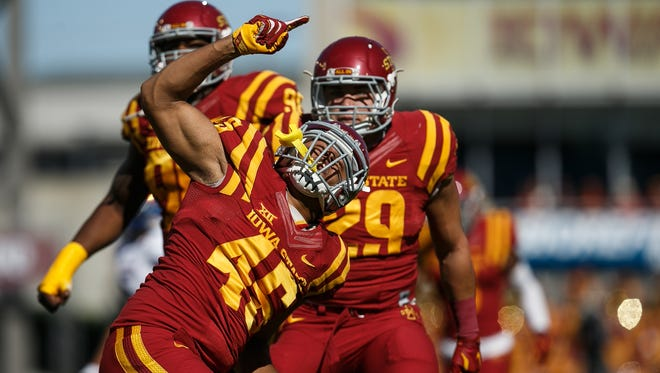 Iowa State's Dale Pierson will play in the NFLPA Collegiate Bowl on Saturday.