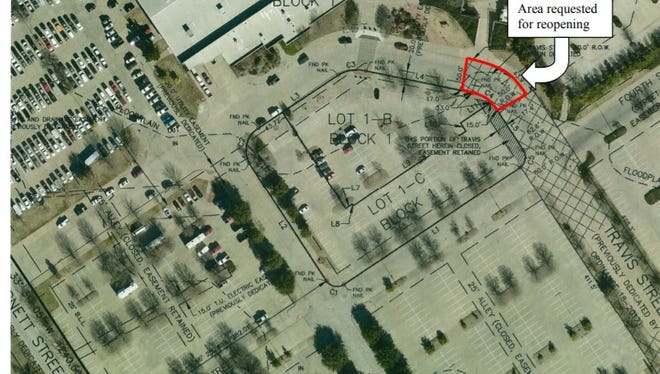 A portion of Travis will be reopened to aid in construction of new hotel near MPEC.
