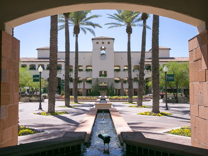 Scottsdale and Paradise Valley are known for opulent