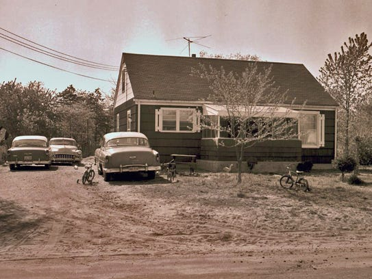 The Jones house in May of 1965. Billy was last seen