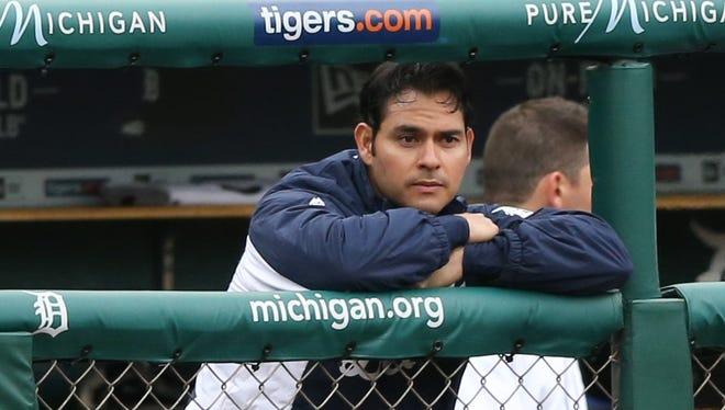 Detroit Tigers right-hander Anibal Sanchez.