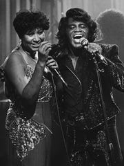 FILE - In this Jan. 11, 1987 file photo, soul singers