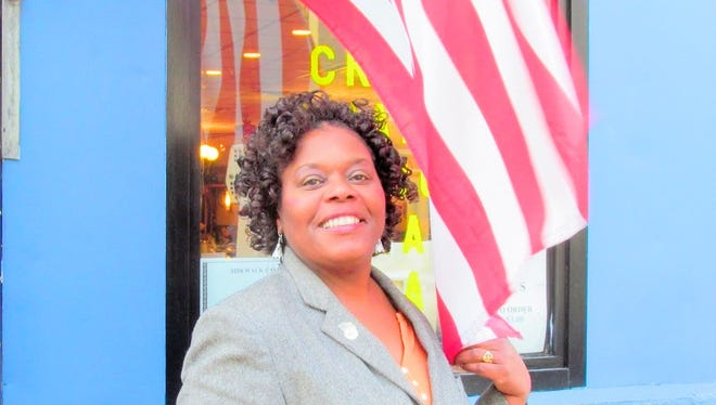 Anngela Vasser Cooper, is founder and CEO of Women Veterans Association Of Hudson Valley. The group will ride to Washington, D.C., on Sept. 23 to attend the ribbon-cutting for the Smithsonian African American Museum of History and Culture.
