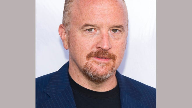 "In this June 25, 2016 file photo, Louis C.K. attends the premiere of ""The Secret Life of Pets"" in New York. The New York premiere Thursday of Louis C.K.'s controversial new film ""I Love You, Daddy"" has been cancelled amid swirling controversy over the film and the comedian."