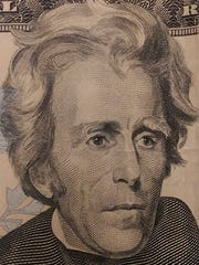 President Andrew Jackson's is the current face on the