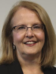 Leslie Houck was hired by York Traditions Bank as a