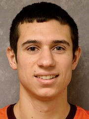 Junior Dalton Reichard (Eastern York) has started all 17 games for the Susquehanna men's basketball team.