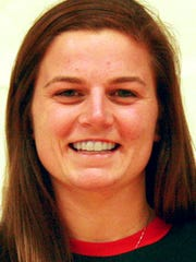 Lancaster Bible College basketball player Krissy Pennell (Eastern York)