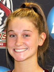 Bloomsburg basketball player Morgan Klunk (York Catholic)
