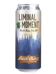 'Liminal Moment,' an East Coast IPA, is the first beer South County Brewing Company will sell in cans. The Fawn Grove-based craft brewer hopes to expand distribution by selling beer in cans.