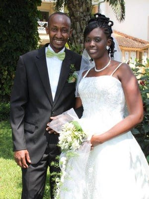 Jean Claude Hatungimana and his wife Yvette.