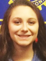 Danielle Sterner, New Oxford High School student of