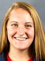 Liberty track and field athlete Holly Arey (South Western)