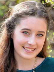 Abigail Zeller is a home-schooled student who will graduate this year and pursue studies in fashion.