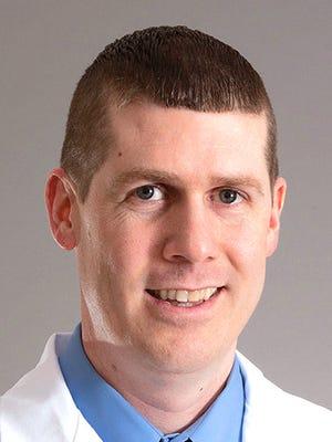 Dr. Anthony Helwig, WellSpan Orthopedics in North Cornwall Township.