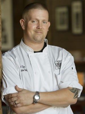 Executive chef Eric Zizka of Oak Steakhouse Nashville.