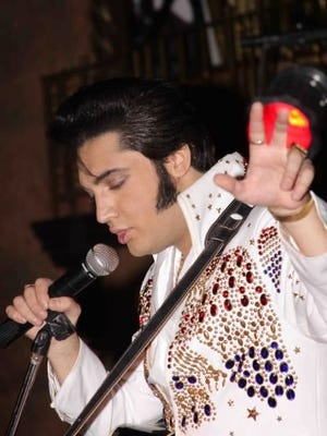 Justin Shandor presents a night of Elvis Presley classics with dinner at 6 p.m. and the show at 7 p.m. at Inn of the Mountain Gods Saturday.