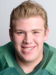 York Catholic's Matt Knauer, a GameTimePA all-star football player.