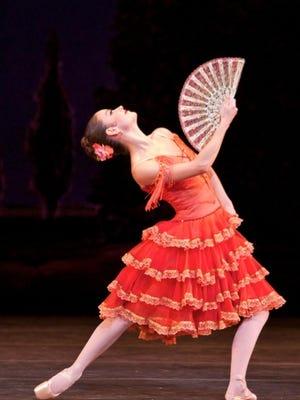 "Jennifer Lauren as ""Kitri"" in ""Don Quixote"" with Miami City Ballet."