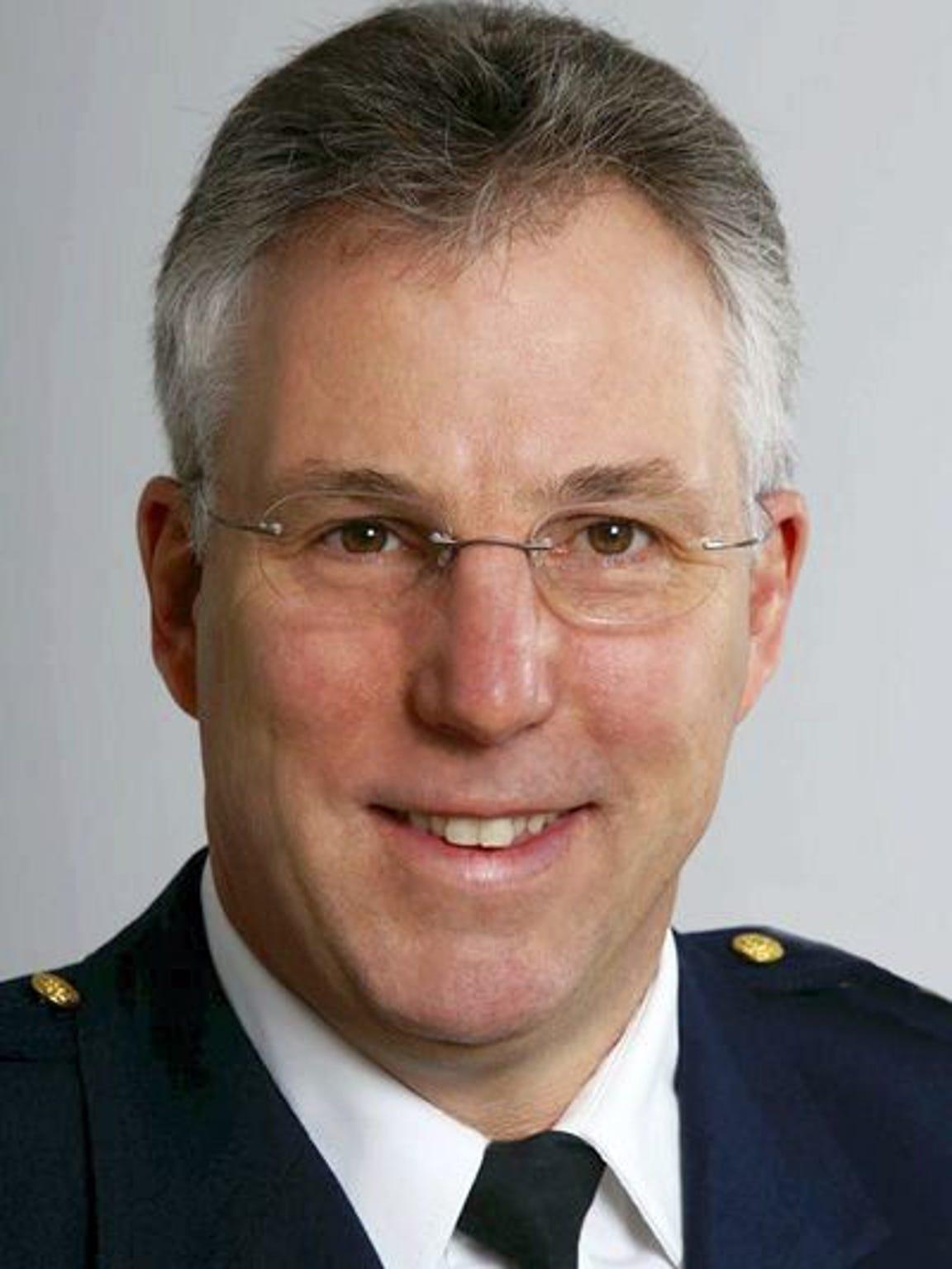 York County Sheriff Richard Keuerleber