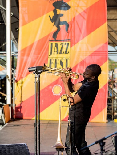 performance during the New Orleans Jazz & Heritage