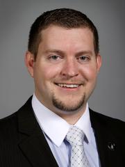 Sen. Jake Chapman, R-Adel