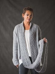 I love this Brewster Cardigan with its long and broad