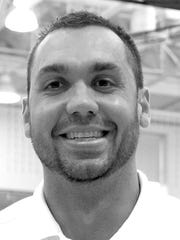 Central York girls' volleyball coach Nate Ocasio