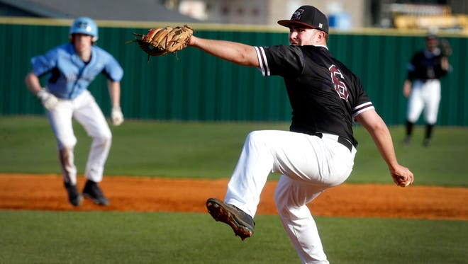 Eagleville's Austin Wells fired a complete-game shutout and added a pair of hits in an 11-0 win over Huntland Monday.