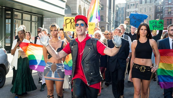 """Andy Samberg plays a clueless recording artist in the mockumentary """"Popstar."""""""
