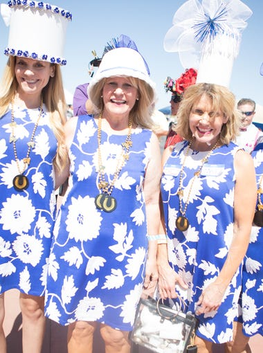 Horse racing fans packed Turf Paradise to catch The Kentucky Derby on Saturday, May 5, 2018 in Phoenix.