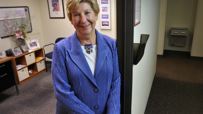 Dr. Lynda Young, a pediatrician at UMass Memorial Medical Center, shown outside her office at the University campus in Worcester in 2014, is one of six physicians who will answer questions in an online forum Wednesday about the return to Worcester public schools.
