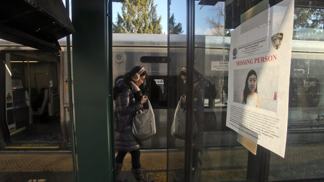 Signs have been posted at the Scarsdale Metro-North station asking for help in locating missing Edgemont teenager Christine Ji Woo Kang. Information on Kang, who has been missing since Jan. 2nd, has been added to a national clearinghouse's list of missing children.