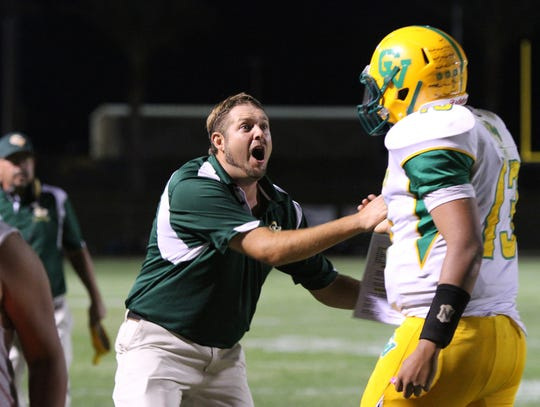 Coachella Valley High School head football coach Brett Davis has been at the school since 2014.
