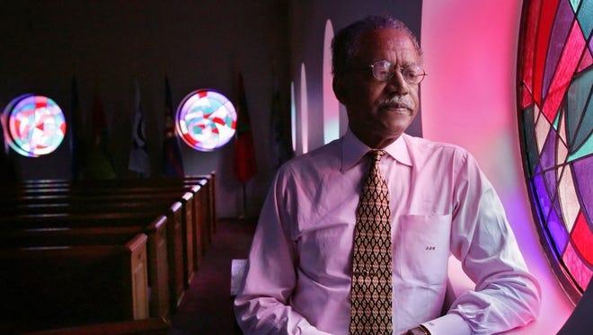 The Rev. Samuel Billy Kyles, pastor at Monumental Baptist Church in Memphis.