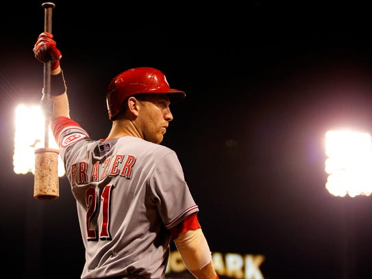 PITTSBURGH, PA - JUNE 25:  Todd Frazier #21 of the