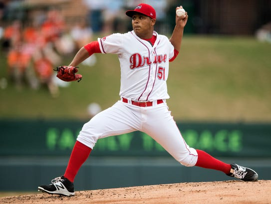 Darwinzon Hernandez, who has 4-4 record with a 3.81