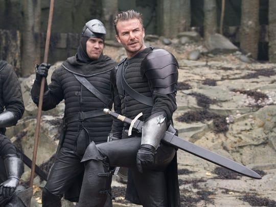 "David Beckham plays Trigger in ""King Arthur: Legend"
