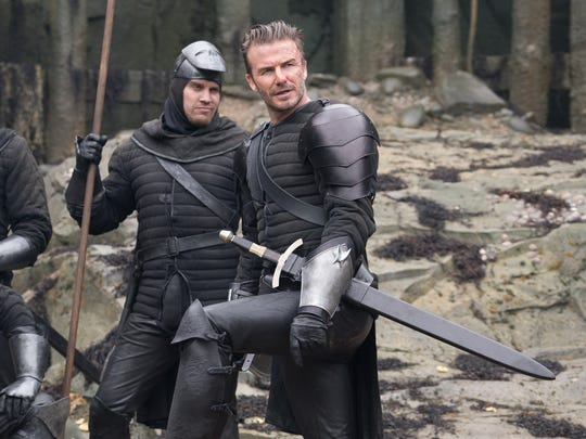"David Beckham plays Trigger in ""King Arthur: Legend"