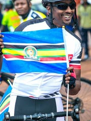 Brandt Kingsley rode with the cyclists during the Tour du Burundi bike race. The trip was life-changing.