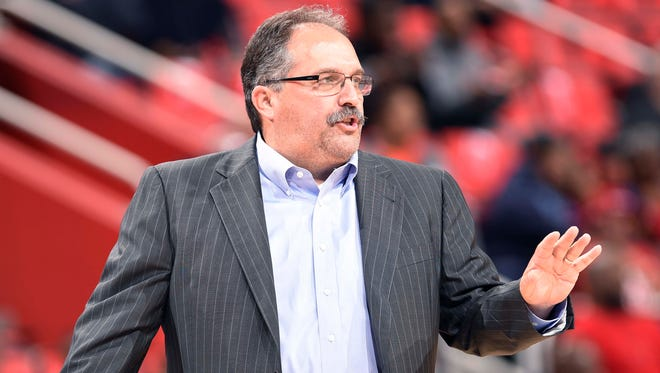 Stan Van Gundy went 152-176 in four seasons with the Pistons.