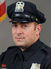 Officer Dustin Wing of the Des Moines Police Department