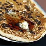 The chocolate chip pancake at Steve's Diner  in Penfield.