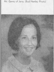 Gwen Roy's engagement to Rodney Ganey was announced in the Shreveport Times.