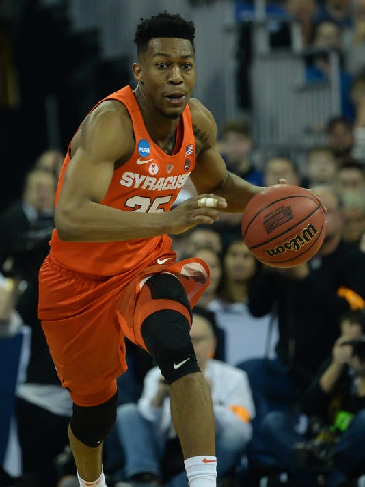 NCAA Basketball: NCAA Tournament-Midwest Regional-Syracuse vs Duke