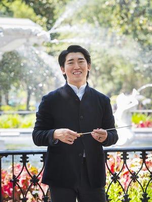 The Savannah Philharmonic's new Music and Artistic Director Keitaro Harada.