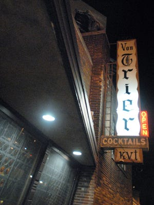 Von Trier, at N. Farwell and E. North avenues, will remain a German bar instead of switching to a midcentury cocktail lounge theme.